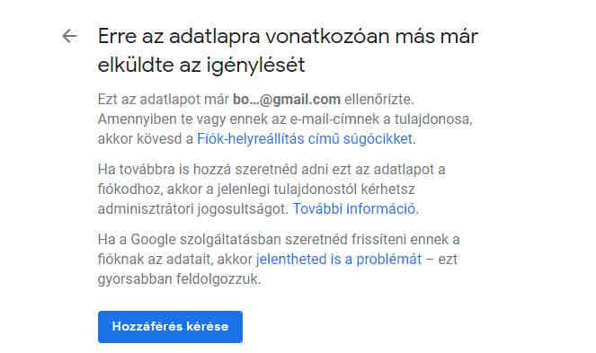 google cégem fiók regisztráció 2