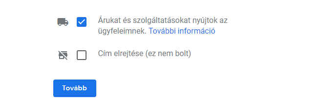 google cégem fiók regisztráció 4