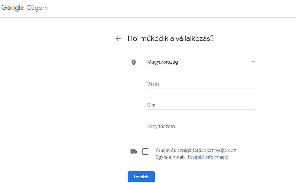 google cégem regisztráció 3