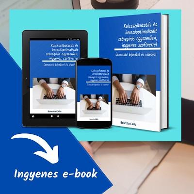 kulcsszókutatás e-book