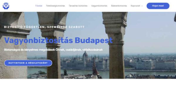 biztosítás weboldal Budapest
